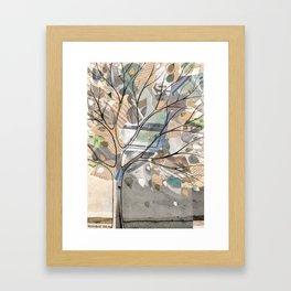 City Tree Framed Art Print
