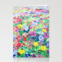texas Stationery Cards featuring Texas Wildflowers by Ann Marie Coolick