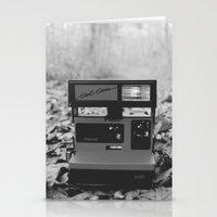 polaroid Stationery Cards featuring Polaroid by beabbyful