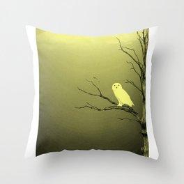 Une Chouette rare ... Throw Pillow