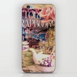 Victorian Scrapbook iPhone Skin