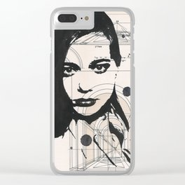 Annelise Clear iPhone Case