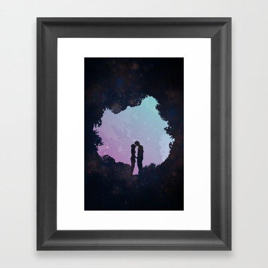 Edge of the Moonlight Framed Art Print