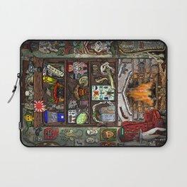 Creepy Cabinet of Curiosities Laptop Sleeve