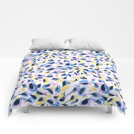 Watercolor abstract pattern pattern Comforters