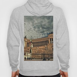 Vittorio Emanuele Monument Palace Rome Italy Hoody