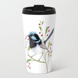 Blue Wren Travel Mug