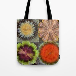 Uniteable Formation Flower  ID:16165-084538-89880 Tote Bag