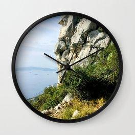 Cliff Views Wall Clock
