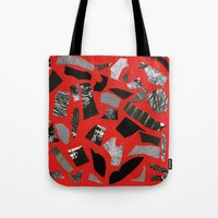mineral Tote Bags featuring Mineral by Hye Jin Chung