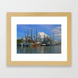 See This Through Framed Art Print