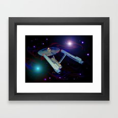 Enterprise NCC 1701 Framed Art Print