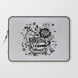Coffee Love Chat - part 2 Laptop Sleeve