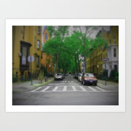 Greenwich Village streets (NY) Art Print