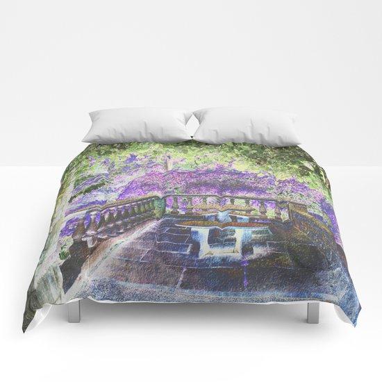 Lavender English Garden Comforters
