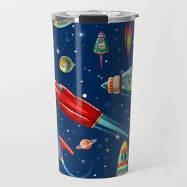 rockets in traffic Travel Mug