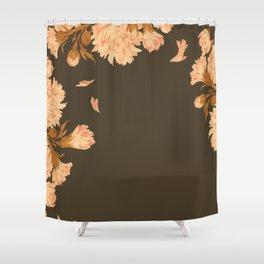 Shadow Veil Copse Shower Curtain