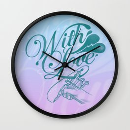 With love always Wall Clock