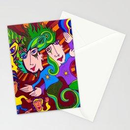 Playdough People Stationery Cards