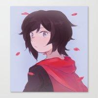 rwby Canvas Prints featuring [RWBY] Petals by bbsan