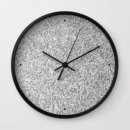 Beautiful Silver glitter sparkles Wall Clock