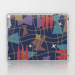Mid Century Modern Abstract Pattern 582 Laptop & iPad Skin