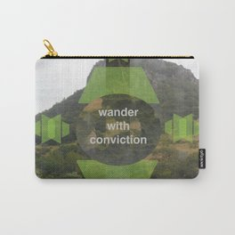 Wonder With Conviction Carry-All Pouch