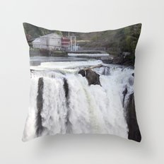 When Will It Fall? Throw Pillow