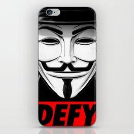 Defy iPhone Skin
