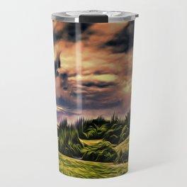 Rimrose Valley (Digital Art Painting) Travel Mug