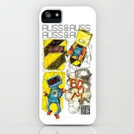 AUSS & AUSS - SEASON 1: THE GIFT - BOOM! iPhone Case