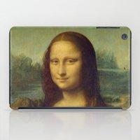 mona lisa iPad Cases featuring Mona Lisa by Leonardo da Vinci by Palazzo Art Gallery