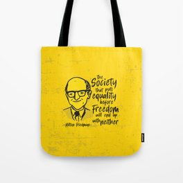 Milton Friedman Tote Bag