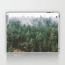 Foggy Vancouver Island Laptop & iPad Skin