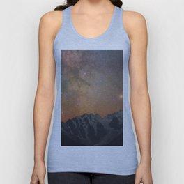 Mountains Milky Way Unisex Tank Top
