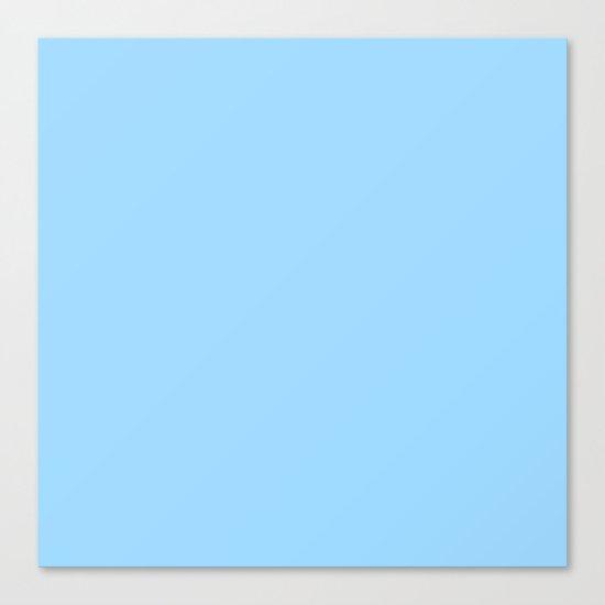 Simply Blue Raspberry Canvas Print