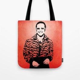 Elton  - Rocket Man - John - Pop Art Tote Bag