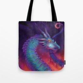 Lightning Dragon Tote Bag