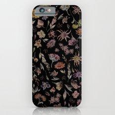 Botanical Study- Dark Colorway iPhone 6s Slim Case