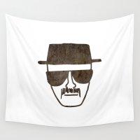 heisenberg Wall Tapestries featuring Heisenberg by Spooky Dooky
