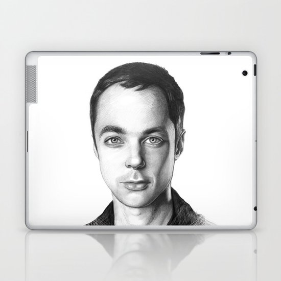 Sheldon Cooper BBT Portrait Laptop & iPad Skin