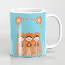Matrioshkas Friendship Coffee Mug