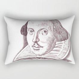 Shakespeare Rectangular Pillow