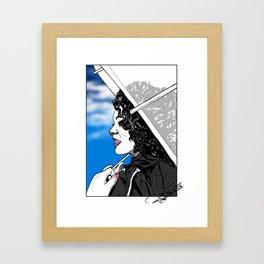 A Sky Full of Jasmine Framed Art Print