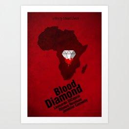 Blood Diamond Poster Art Print