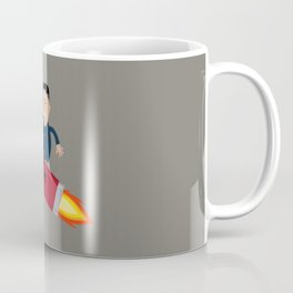 The Nuclear Rider Coffee Mug