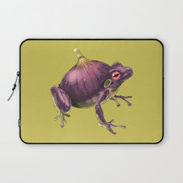 Ff - Frig // Half Frog, Half Fig Laptop Sleeve