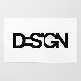 Typo Design Rug