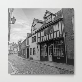 Elm Hill, Norwich Metal Print