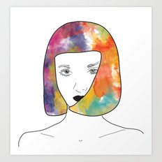 face I Art Print